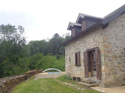 Photo for PYRENEES RENOVATED BARN EXCLUSIVE SWIMMING POOL HEATED ALL YEAR MOUNTAIN VIEW