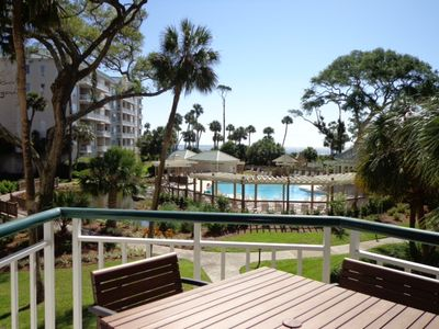 Photo for 3104 Windsor Court South Beautiful 1BR Oceanfront Villa