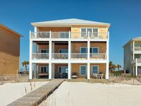 We all loved it and enjoyed being right on the beach the home was very nice and had enough space for