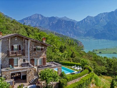 Photo for Casa Crusca, near Lake Como with a private swimming pool