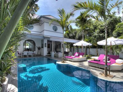 Photo for Luxury 5 ***** Villa, 3 Suites, VIP Service, 5 mins to Nai Harn Beach