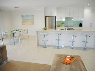 Kitchen/Meals/Living - a spacious area where everyone can spread out & relax.