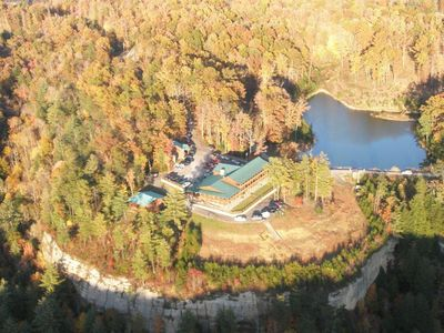 Aeriel View of Lodge