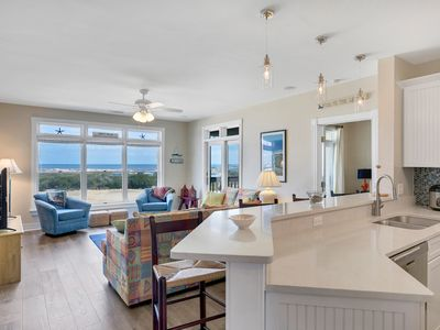 Photo for Mosby's Hideaway: Remodeled Top Floor Condo, Ocean and Golf Views