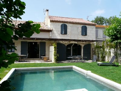 Photo for Rental with private pool in the heart of the Alpilles 12 persons