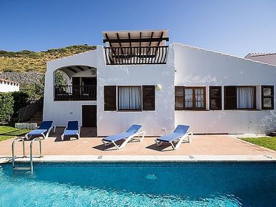 Photo for Vacation home Villas Playas de Fornells V3D AC 01  in Fornells, Menorca - 6 persons, 3 bedrooms
