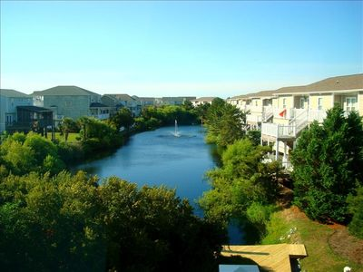 Photo for Beautiful views of the sunset in this 3BR/2BA west end condo overlooking inlet.