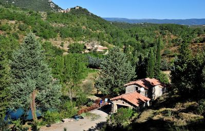 Photo for Cottage of Trouliere, quiet, Banne, 9kms from Les Vans