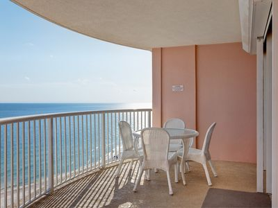 Photo for Beachfront condo w/ shared outdoor/indoor pools, sauna & hot tub - dogs OK