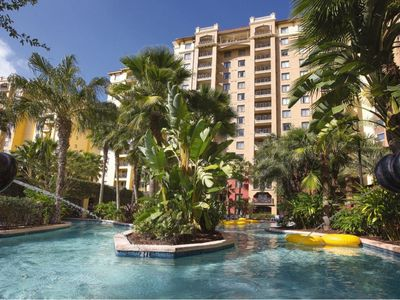 Photo for Wyndham Bonnet Creek, 2 Bedroom Deluxe Condo, Full Kitchen, Free WiFi