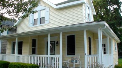 Photo for BeachWalk Cottage  - Charm by the Chesapeake Bay.