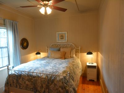 Photo for Charming 2 Bedroom Cottage overlooking Cypress Creek, close to Wimberley Square
