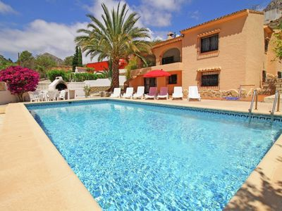 Photo for Beautiful detached villa with pool in Calpe fine for families and families