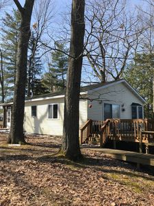 Photo for Lake Front Cozy Cottage on BBL:  Swim, Fish, Fun, Sun , and best of all Relax..