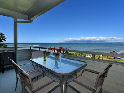 Photo for Kahana Outrigger Oceanfront Property 3 BR/3 BA Unit #2A1