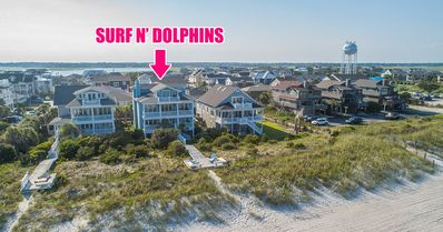 Photo for Incredible Oceanfront property - Private Beach access with Private Dune Deck