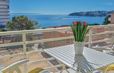 Photo for LENA apartment, great terrace with sea views.