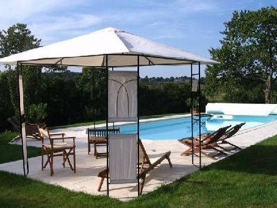 Photo for Luxury Cottage 4 ears, with pool in the heart of the Loire country