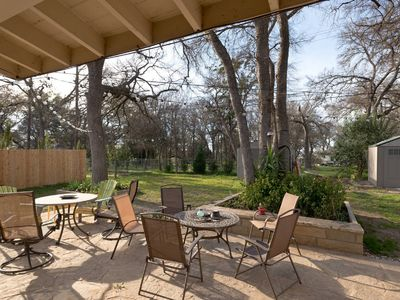 Photo for Artsy Downtown Austin, Travelers Bungalow with outdoor entertainment!!