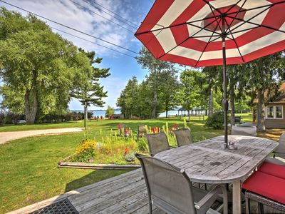 Photo for Lakefront 'Manitou Cottage' Near Dwtn Suttons Bay!