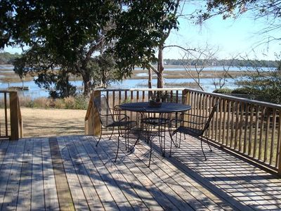 Photo for Tidal View Home Minutes to Downtown Beaufort & Parris Island