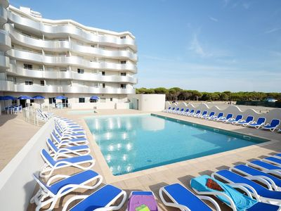 Photo for Modern residence with swimming pool at the sandy beach of Port-Barcarès
