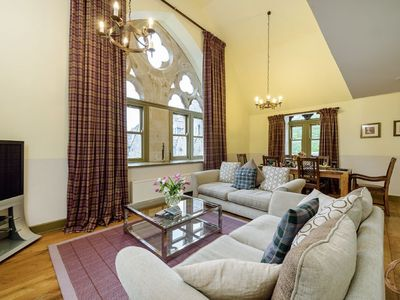 Photo for Highland Club Direct Property - Glenlivet apartment in Monastery on Loch Ness -  WiFi - Swimming Poo