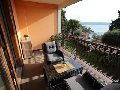 Photo for Holiday apartment Portoroz for 2 persons with 1 bedroom - Holiday apartment in a villa
