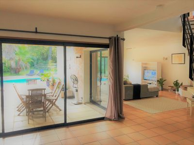 Photo for 5 bedroom villa with pool near Valbonne village