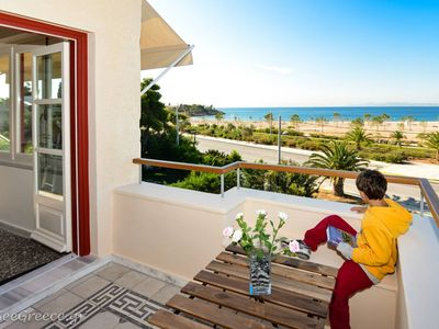 Photo for Athenian renovated beach house for big groups