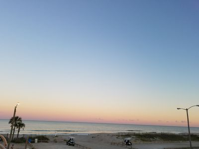 Stunning view in our Oceanfront home!