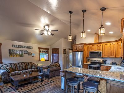 Photo for Whiskey Springs New Cabin in Town, 5 Blocks from Yellowstone Nat Park W Gate