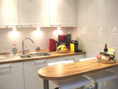 Photo for Brussels Nice Apartment Modern near EU, Grand place. Free Garage, Free WI-FI