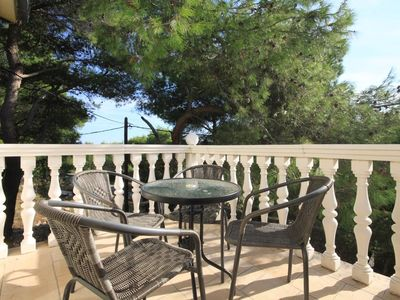 Photo for One bedroom apartment with terrace Rukavac, Vis (A-2407-c)