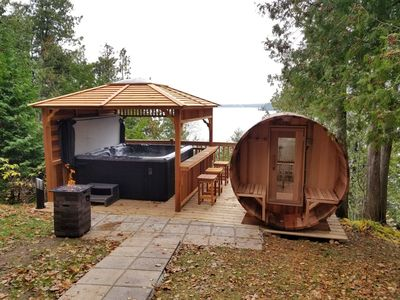 Photo for One of a kind, super spacious cottage easily accommodates up to 4 families !