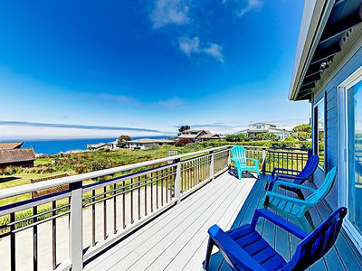 Photo for New Listing! Remodeled Dillon Beach Haven w/ Hot Tub, Game Room & Ocean Views