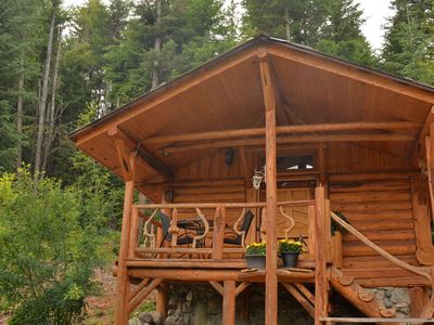 Photo for Blacktail Retreat - Log Cabin w/ Hot Tub - Sun Peaks/Heffley Lake