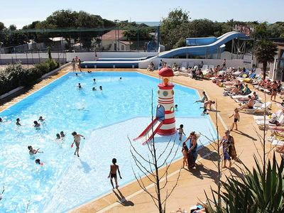 Photo for Camping Anse Des Pins **** - Mobilhome for 4 People