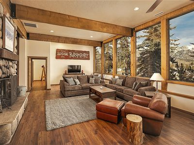 Photo for YOUR OWN PRIVATE LODGE/SUMMER RETREAT -LARGE FAMILIES/GROUPS-BEST MOUNTAIN VIEWS