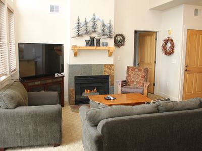 Photo for Park City Large 2BR/2.5BA with loft, Great Views and Location