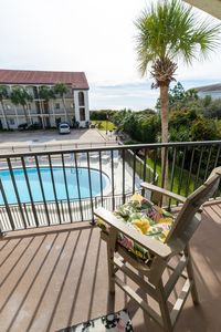 Photo for VERY NICE SECOND FLOOR GREAT GULF VIEWS AT THE PALMS OF SEAGROVE BEACH