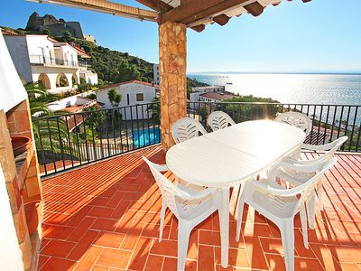 Photo for Vacation home Joan Sardà in Roses - 8 persons, 4 bedrooms