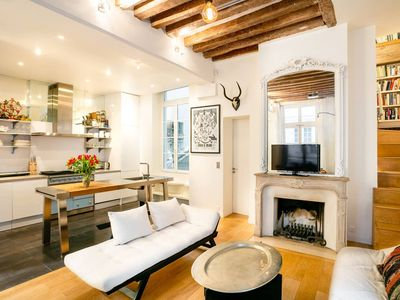 The Heart of St. Germain Des Pres – Odeon - Stylish 3BR Duplex
