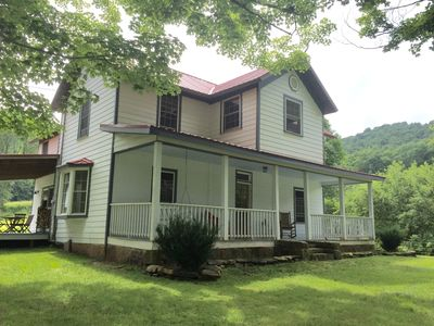 Grassy Meadows Estate located on 125 acres in the Appalachian Mountains