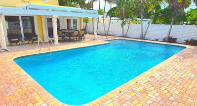 Photo for Casa Aloha: 4 Bed Pool Home 1 block to the beach!