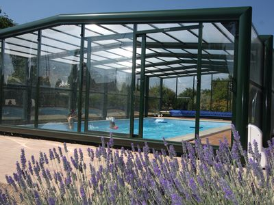 """Photo for The """"Gîtes de L'ODA"""": Class 2 * with heated indoor pool !!!"""