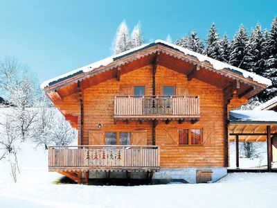 Photo for Vacation home Chalets Bois de Champelle (MRI102) in Morillon - 10 persons, 4 bedrooms