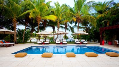 Photo for Beautiful Waterfront Villa at the exclusive Casa de Campo Res