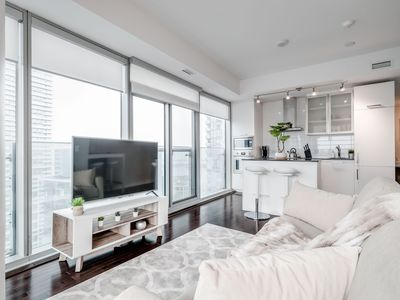 Photo for 2BR 1.5BA Condo + Parking - Jays, MTCC, CN Tower