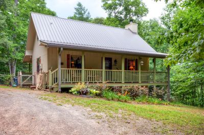 Elevate your North Carolina experience when you stay at this marvelous vacation rental cabin.